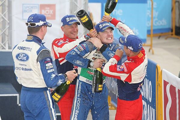 Ford's Latvala takes podium in Greece as Solberg misses out on win