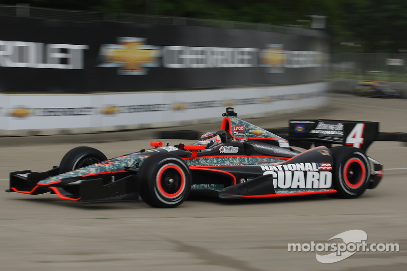 Panther penalized for red-flag work on Hildebrand car