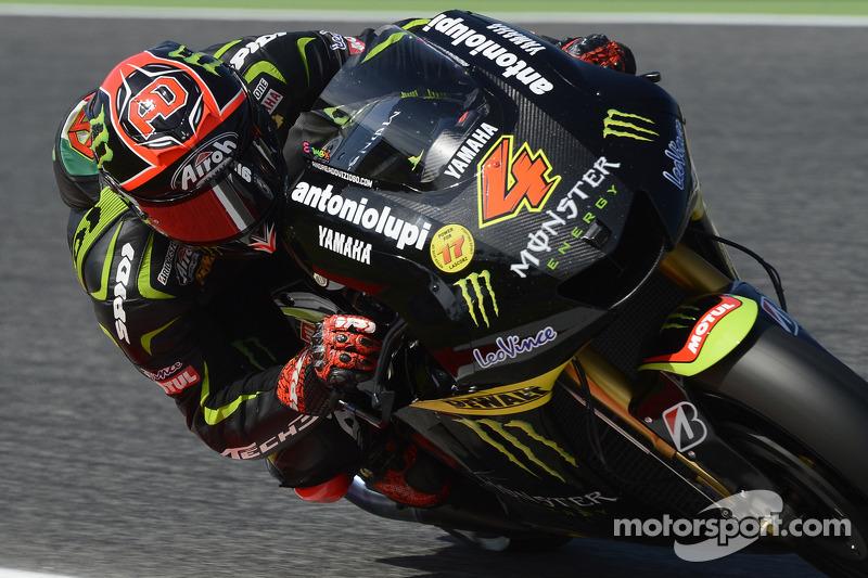 Dovizioso storms to first Yamaha podium in Catalunya