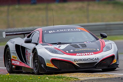 McLaren takes pole in thrilling Slovakia qualifying