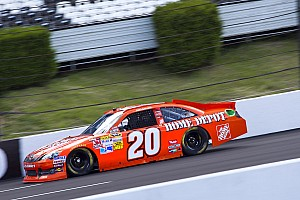 NASCAR Cup Pole Winner Logano, Toyota drivers talk about qualifyng at Pocono