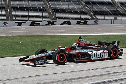 Panther Racing overcomes, comes back for top-5 finish at Texas