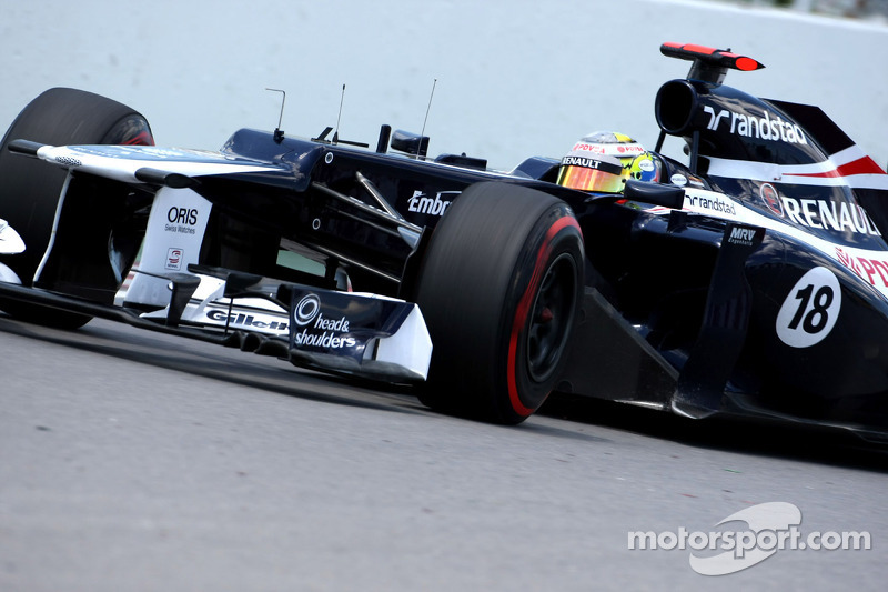Difficult day for Williams team in Montreal