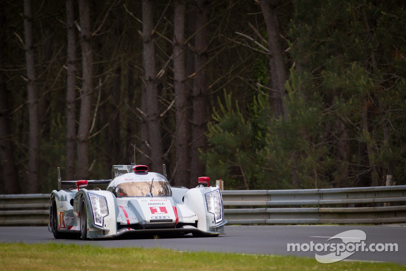 Historic Pole for R18 Hybrid as Audi claim f0ront row