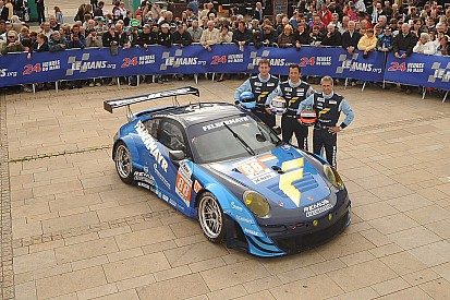 Ruberti hunting for the podium of the 24 Hours of Le Mans