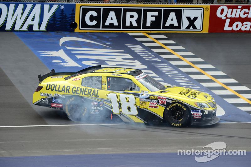 Logano continues dominance in Michigan, wins Saturday race