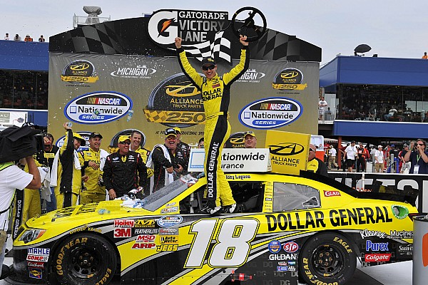 Logano claims win for Toyota at Michigan