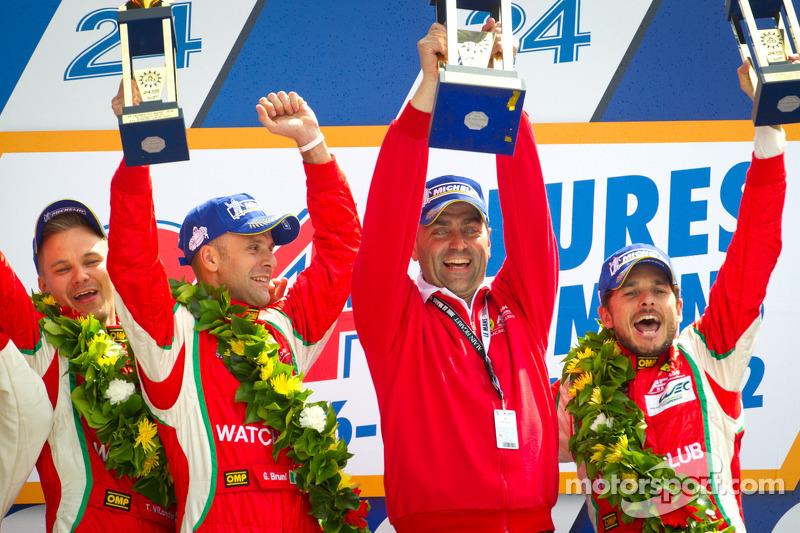 Ferrari wins top GT class at Le Mans