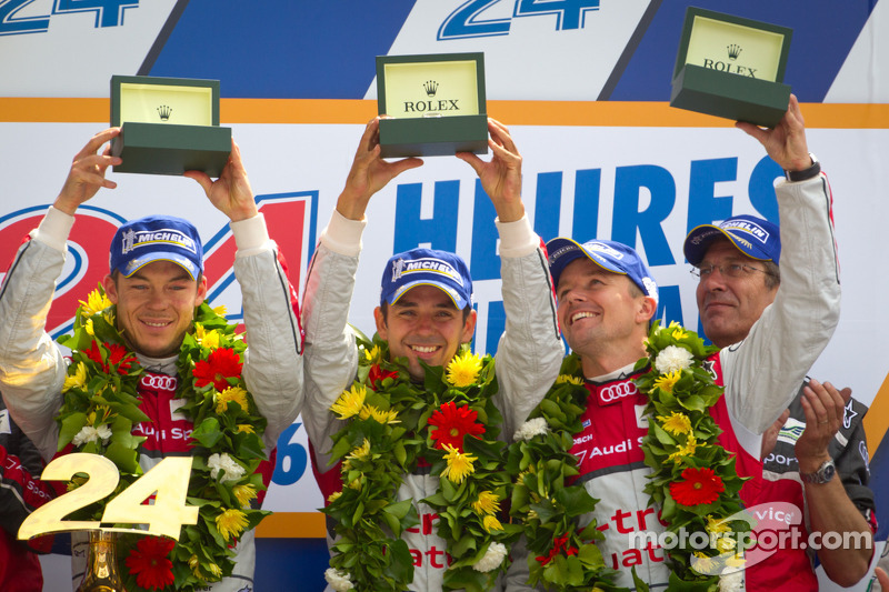 WEC: History made by Audi at Le Mans