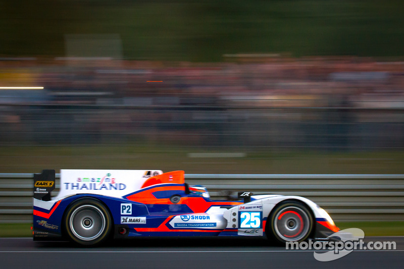 Jan Charouz and team ADR-Delta finished 24h Le Mans 2012