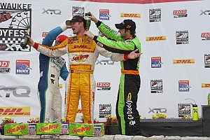 IndyCar Andretti Autosport ready for the short oval in Iowa