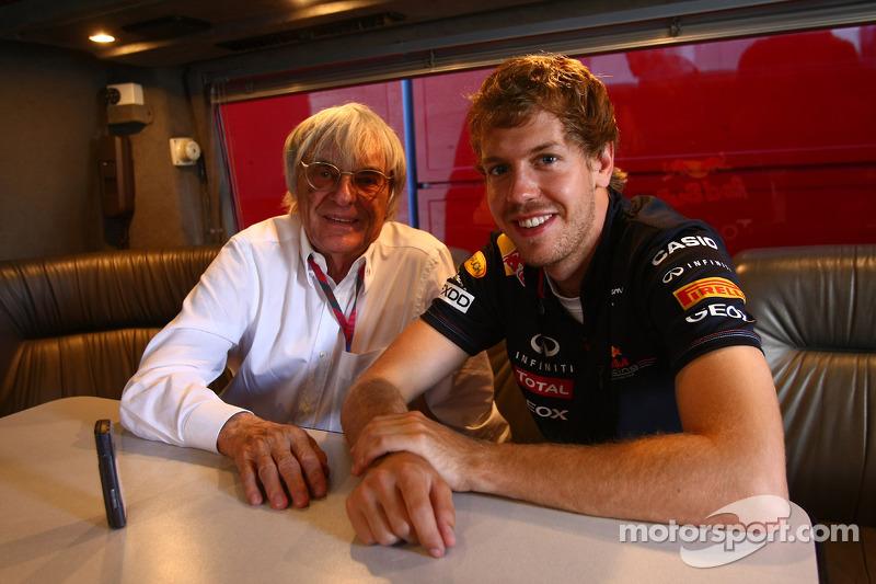 Vettel 'too young' for Ferrari switch - Ecclestone