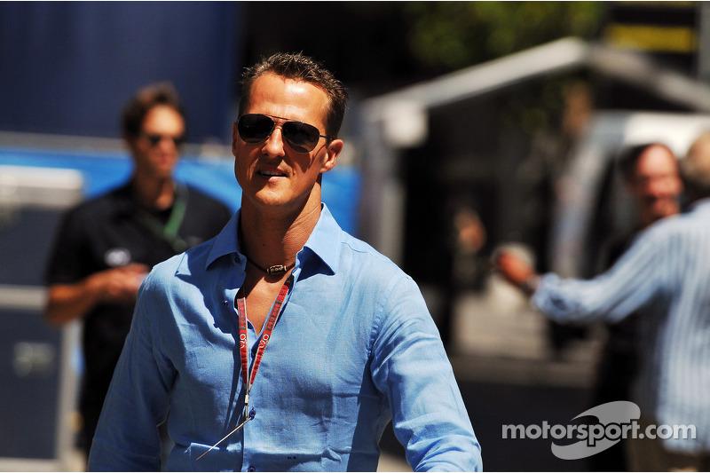 Schumacher real key to F1 'silly season'