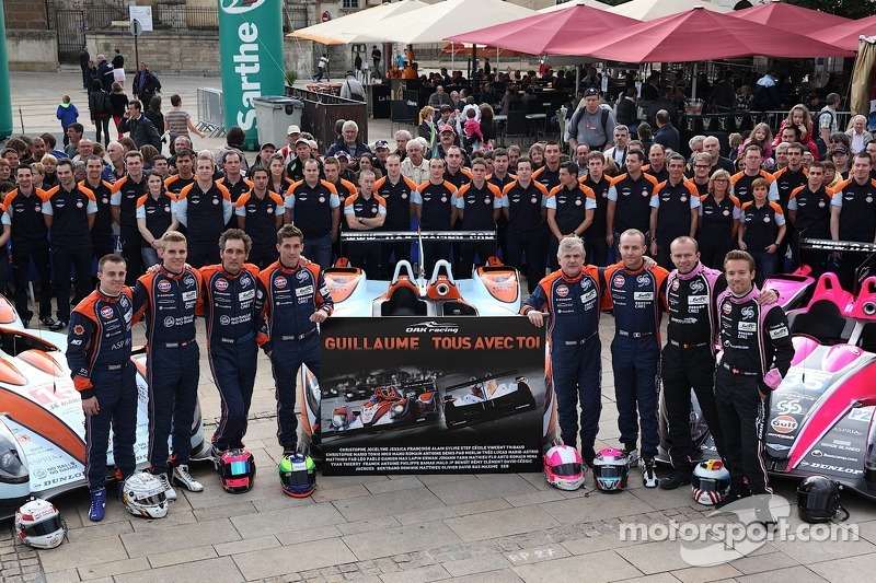 Guilliaume Moreau moved to spinal-care facility after Le Mans crash