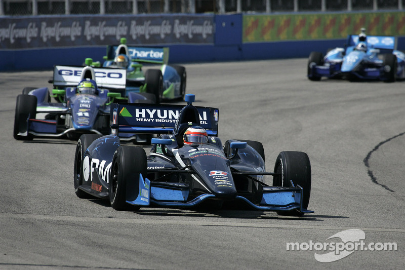 Kanaan's podium charge leads promising night for KVRT in Iowa