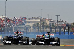 Formula 1 Breaking news Williams team looks back on the disappointment of Valencia