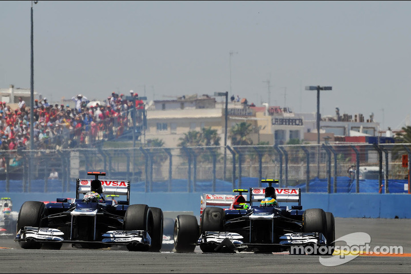 Williams team looks back on the disappointment of Valencia