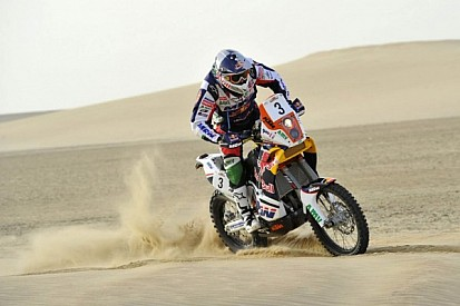 Glorious day for Coma in Sardinia as he notched his fifth world title