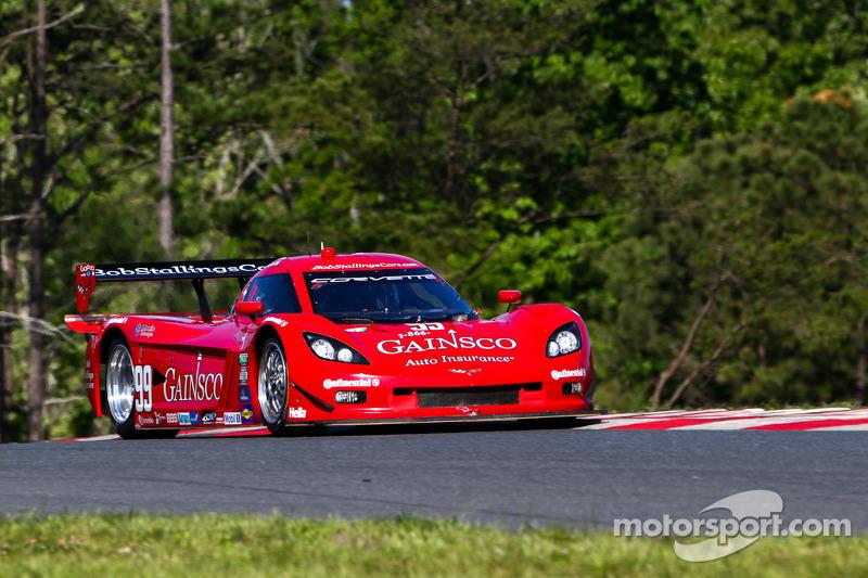 GAINSCO/Bob Stallings Racing Corvette leads way at Watkins Glen