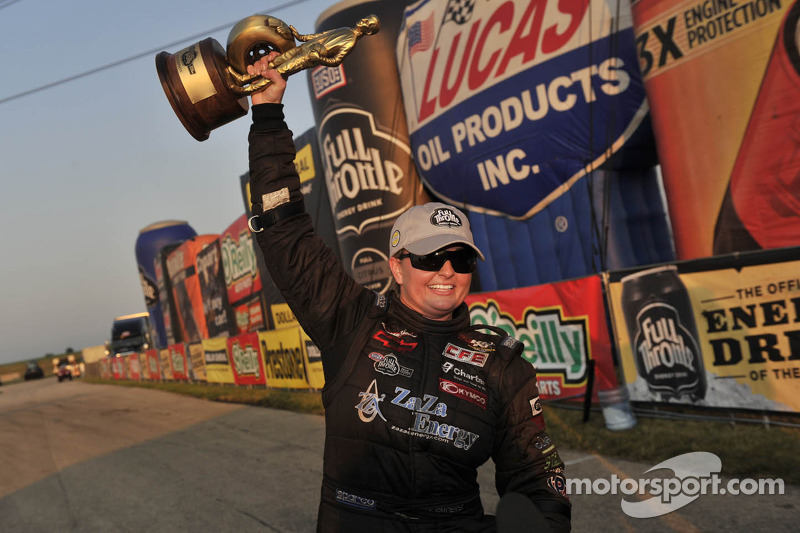 Enders becomes first woman to win NHRA Pro Stock race