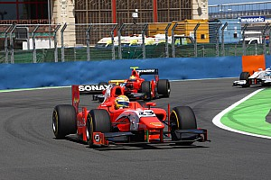 GP2 Race report Flying Razia tears through field to secure podium finish