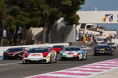 Amici claims victory in Lamborghini Blancpain Super Trofeo's Race 1 at Paul Ricard