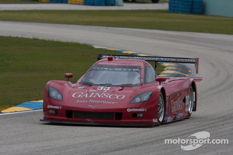 Gurney-driven Corvette DP posts fast lap at Indy test