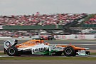 Force India did not have a good day in Silverstone