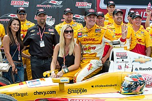IndyCar Preview Hunter-Reay aims for four wins in a row as Andretti Autoport takes on Edmonton
