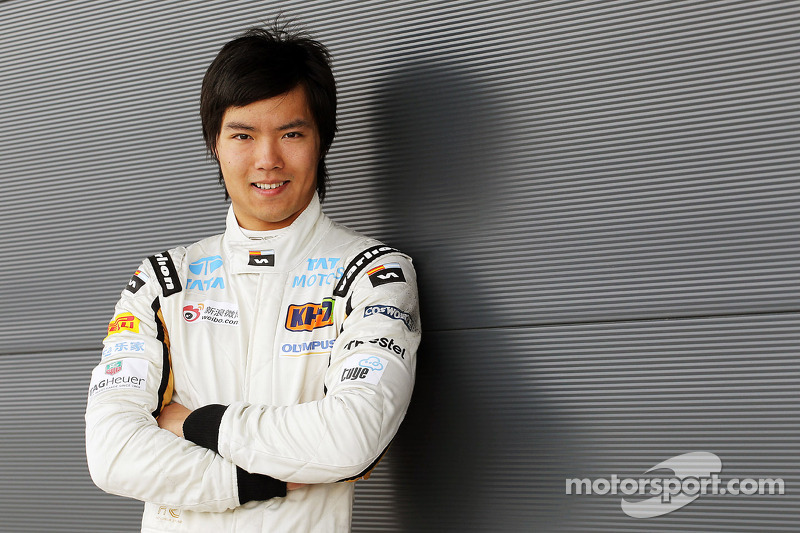 Ma Qing Hua cries after testing F1 car at Silverstone - Video