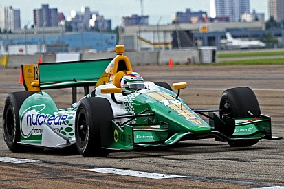 Rain comes too late in Edmonton to help Lotus HVM in qualifying
