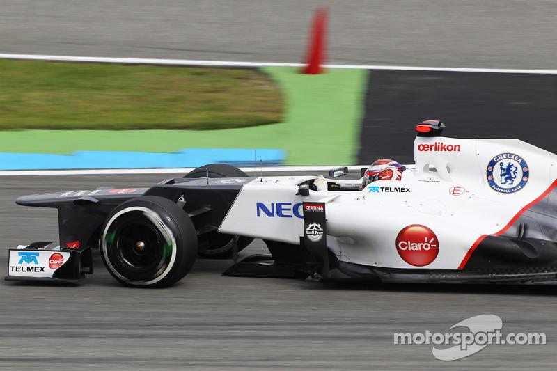 German GP best of 2012 season for Sauber