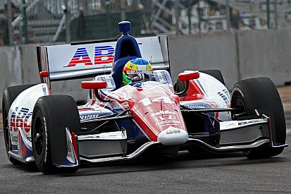 A.J. Foyt's Mike Conway earns 12 spots in a hard-fought Edmonton outing