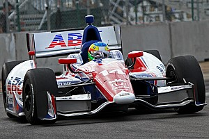 IndyCar Breaking news A.J. Foyt's Mike Conway earns 12 spots in a hard-fought Edmonton outing