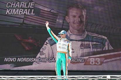 Charlie Kimball breaks hand in Mid-Ohio testing