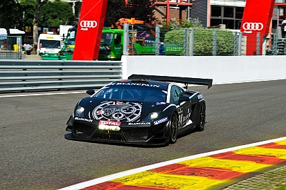 Menten-Kox-Hayek-Thurn und Taxis on fourth row for BES Spa 24 hour race