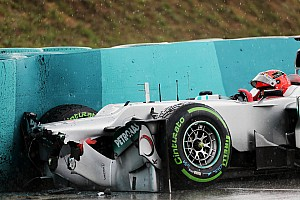 Formula 1 Breaking news F1 drivers criticise Pirelli's wet tyres