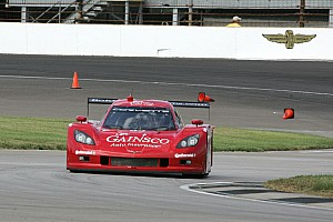 Grand-Am Race report Bob Stallings Racing retires early at Indianapolis, pole effort goes for naught