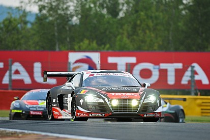 Heavy downpour brings out Safety Car at Spa 24 Hours