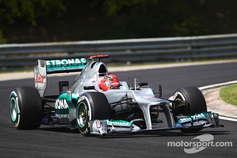 Mercedes AMG F1W03 No.8 N.Rosberg Formel 1 2012