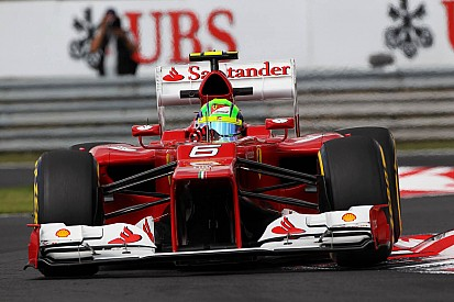 Tricky day for Ferrari leaves Alonso and Massa sixth and seventh for Hungary