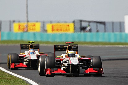 HRT leaves the Hungarian GP with mixed emotions