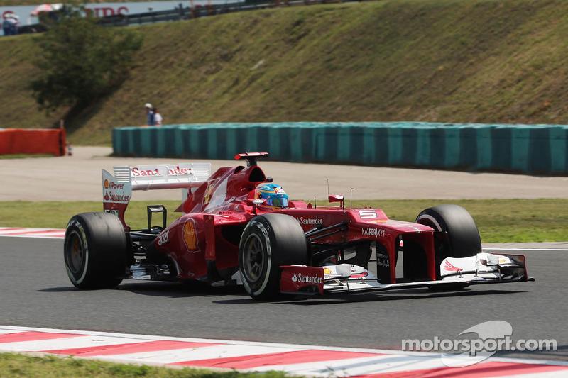Ferrari's Alonso and Massa garner points in Hungarian GP