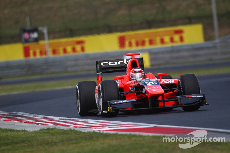 Chilton snatches last minute pole in Budapest