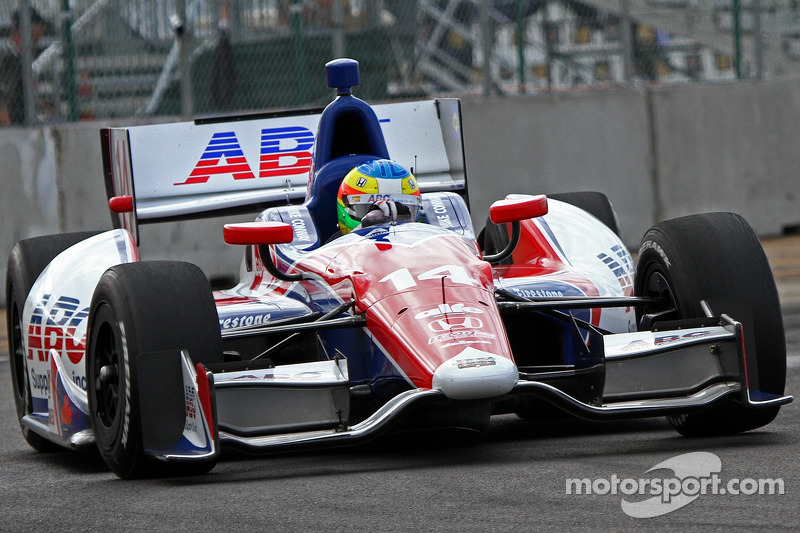 A.J. Foyt's Mike Conway says Mid-Ohio is a very physical track