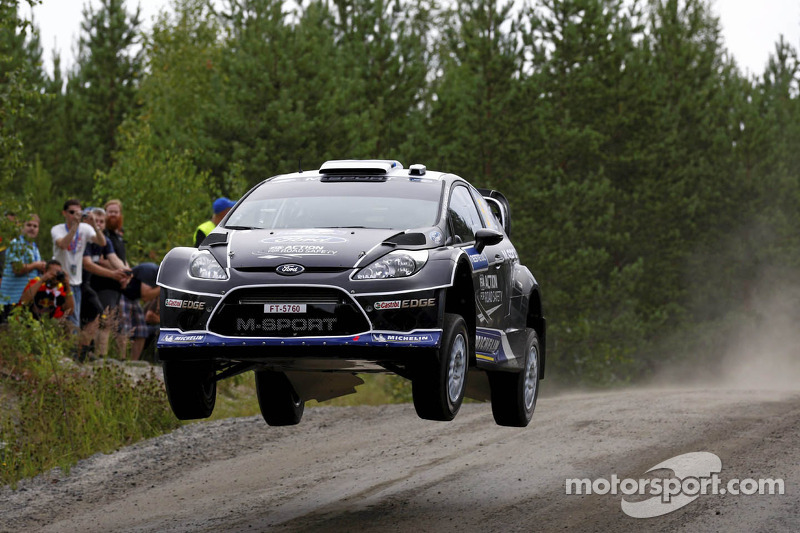 Tänak takes sixth in Finland