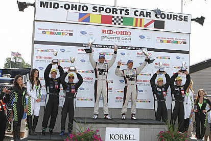 Graf and Luhr take fifth consecutive 2012 win at Mid-Ohio