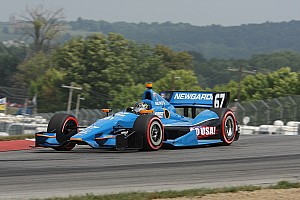 IndyCar Race report SFHR unlucky with pit strategy at Mid-Ohio
