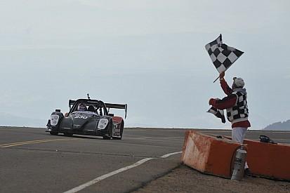 Yokohama's Nutahara wins Pikes Peak EV class with new record