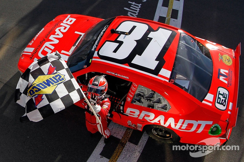 Allgaier scores first road course win in Montreal